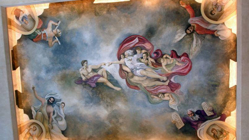 Une Maison Texane Revisite A Sa Facon La Chapelle Sixtine