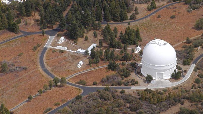Situé au nord de San Diego, l'observatoire de Palomar a été le plus grand télescope au monde de 1947 à 1975. ©Gvanbelle