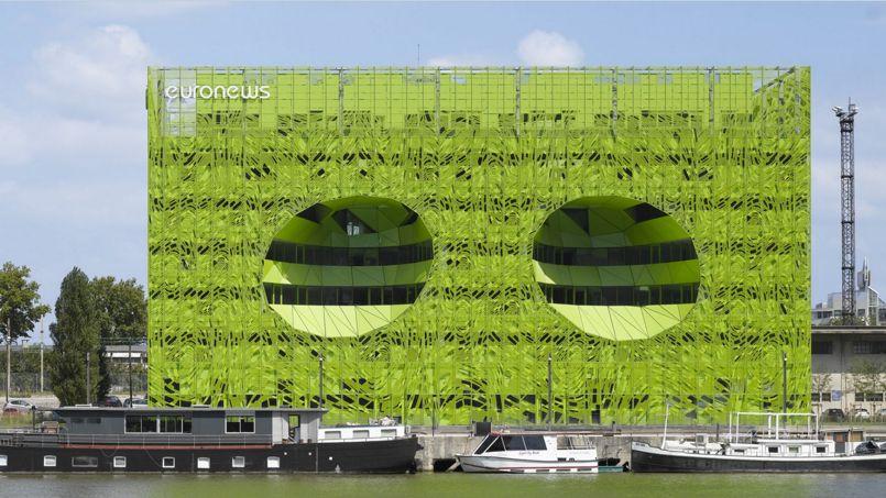 Credit Bonhomme Vert À lyon, euronews voit la vie en vert