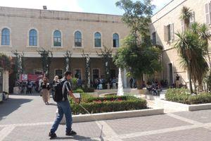 Le campus de l'université accueille des étudiants chrétiens et musulmans. . ©Bethléem University