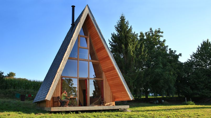 maison bois tipi