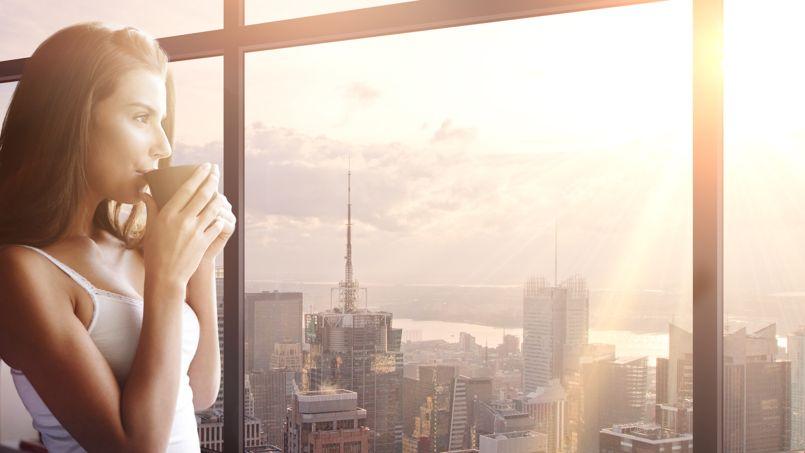 Compter 600 à 800 euros par fenêtre (sans compter le vitrage) pour réduire sensiblement le niveau sonore en position ouverte. Crédit Technal.