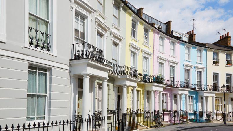 Les façades colorées du quartier de Primrose Hill.