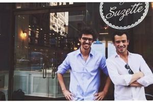 Guillaume Blanchard et Andy Rodrigues, diplômés de PSB et cofondateurs de By Suzette.