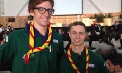 Léon et Cédric sont scouts en Alsace ©HL