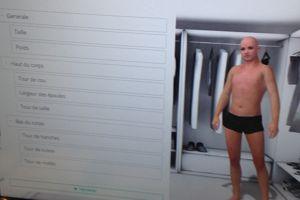 Photo d'une démonstration de création d'avatar 3D. ©HL