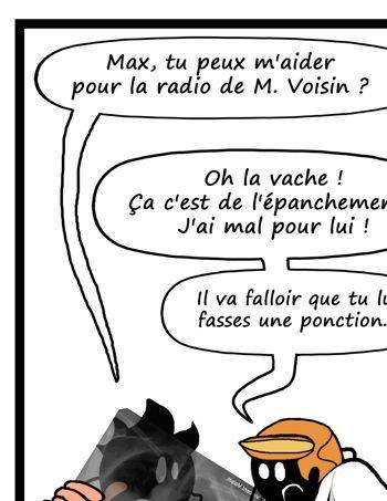 Pour ne pas être démasqué, Védécé attend quelques semaines avant publier ses dessins (Vie de Carabin/©Védécé)