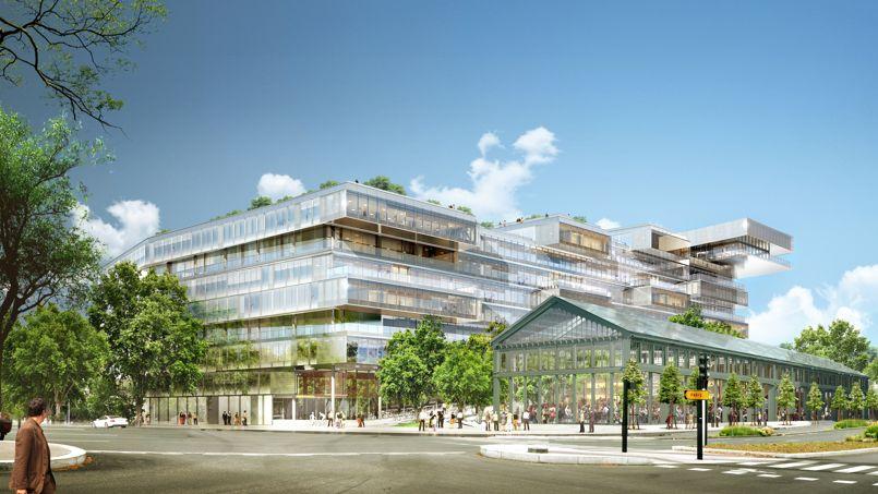 À Issy-les-Moulineaux, l'architecte Jean-Paul Viguier va créer des immeubles avec des jardins intérieurs et redonner vie à une halle Eiffel