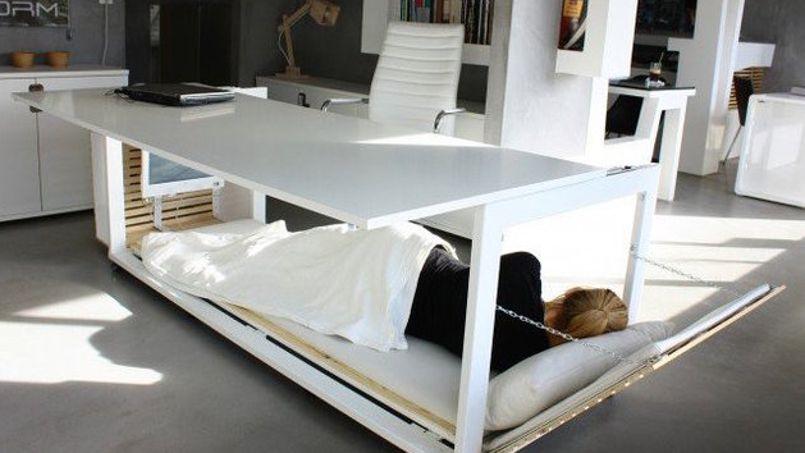 Un bureau lit du Studio NL. Crédit: Studio NL.