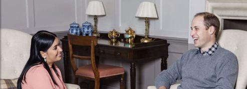 Le prince William réalise le rêve d'une étudiante en journalisme