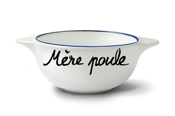 Bol Breton Mère poule - Pied de Poule chez Fleux - 19,90 €