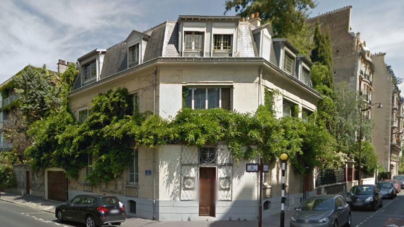 L'ancienne demeure du fondateur des laboratoires Servier, à Neuilly-sur-Seine. Capture Google Street View.