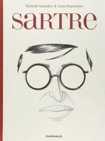BD - Sartre - une existence, des libertés de Mathilde Ramadier et Anaïs Depommier, Dargaud - Amazon - 17,95 €