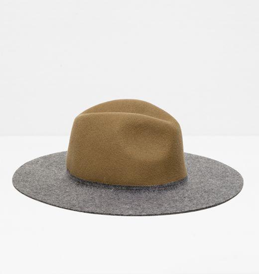 Chapeau en feutre pour Femme Zara – 29,95 €