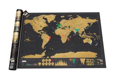 SCRATCH MAP DELUXE EDITION - CARTE À GRATTER chez FLEUX - 31,90 €