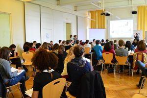 Les étudiants de l'ISIGE participent à une simulation des négociations. ©ISIGE-Mines ParisTech