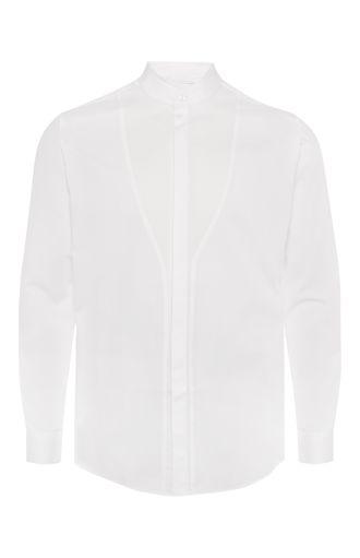 Chemise «Grandad» blanche - Primark - 10 €