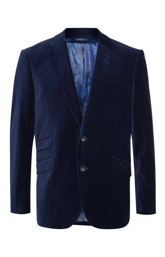 Veste en velours bleue - Primark - 50 €