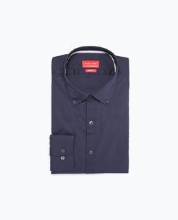 Chemise bleue - ZARA - 25,95 €
