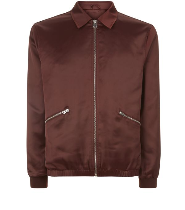 Bomber burgundy - New Look - 39,99 €