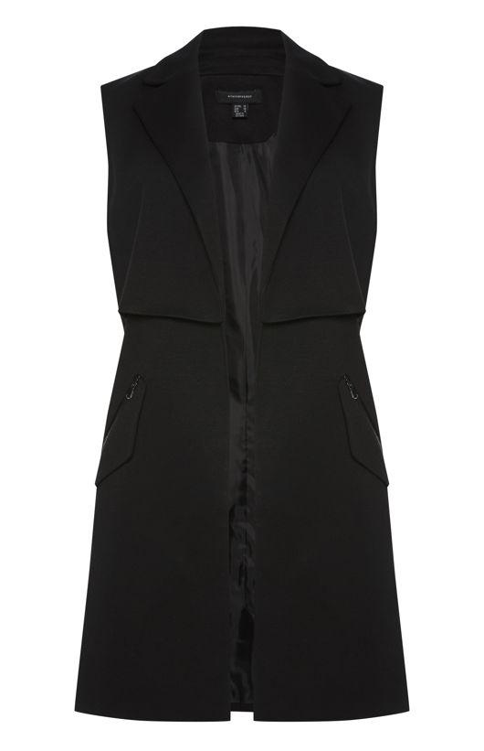 Veste sans manches zippée - Primark - 23 €