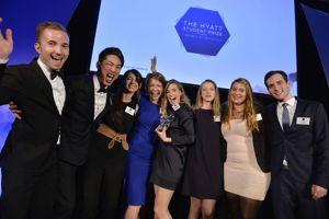 En 2015, le Hyatt student prize a récompensé Rubina Insam, étudiante à l'École hôtelière de Lausanne