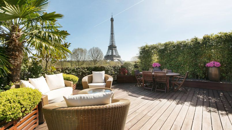 Vente Appartement Terrasse Paris