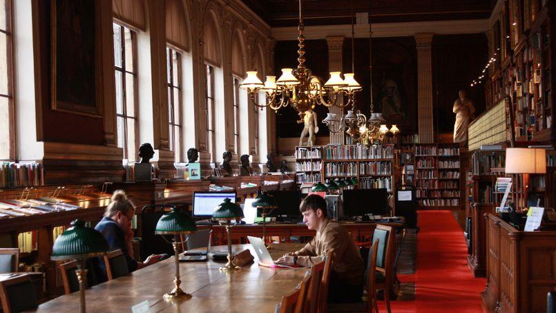 Les élèves de la classe préparatoire auront accès à la bibliothèque de l'école rue Bonaparte. ©sdetarle