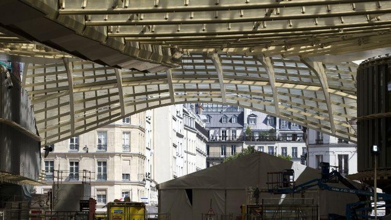 La canopée des Halles sera livrée cette année.