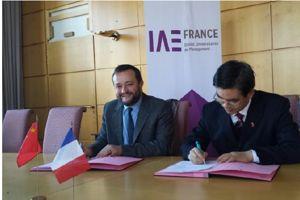 Les deux présidents ont signé l'accord franco-chinois le 15 janvier dernier.