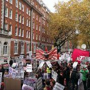A Londres, les étudiants sont en grève contre l'augmentation des loyers