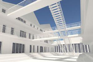 «Des résidences dans l'esprit de la collocation». ©Armand Yasar