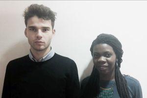 Clément Rongier et Sylvie Auchecorne, les lauréats du concours. ©Clément Rongier