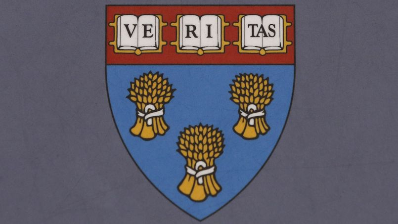 Le blason de la Harvard Law School a été adopté en 1937. © Uncredited/AP