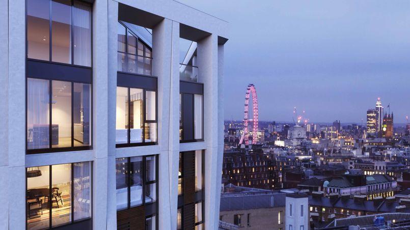 La conversion d une tour de bureaux en appartements de luxe