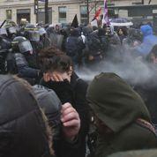 À Paris, la manifestation lycéenne contre la loi Travail vire à la bataille rangée