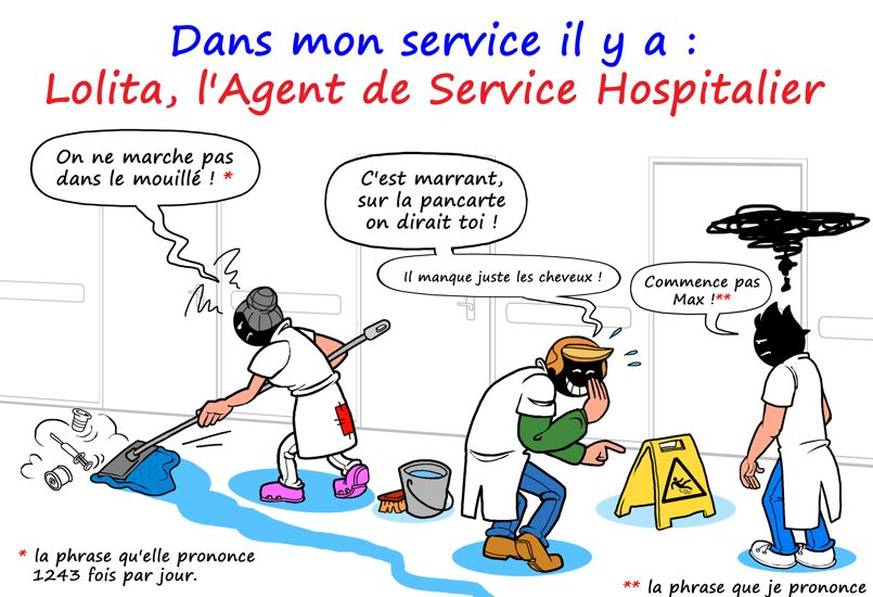 Védécé se penche sur la vie - et les péripéties - d'un interne des hôpitaux. ©VieDeCarabin