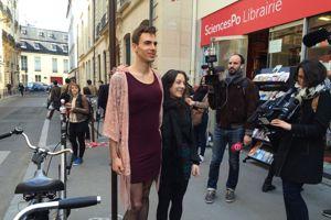 Maxime et son amie font partie sont venus casser les stéréotypes ©C-A.L