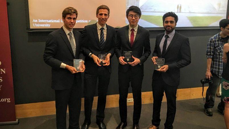 Le jury était composé de professionnels de l'industrie et de professeurs de l'université Harvard©HEC
