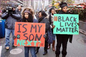 «Mon fils est-il le prochain?» se demande une mère lors d'une manifestation ©Flickr
