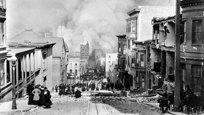 La ville a été détruite à près de 80%.