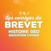 Brevet: le corrigé de l'épreuve d'histoire-géographie en vidéo