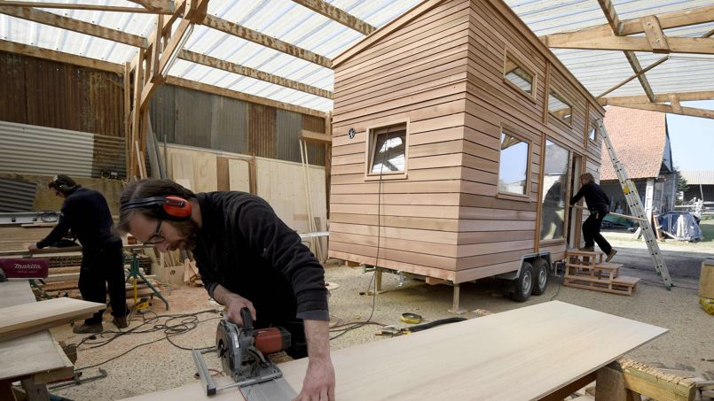 la fois design et colo laissez vous tenter par les tiny houses. Black Bedroom Furniture Sets. Home Design Ideas