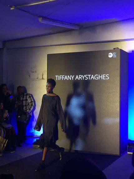 «C'est comme une autobiographie. C'est droit, simple et épuré» explique Tiffany Arystaghes. ©Iban Raïs