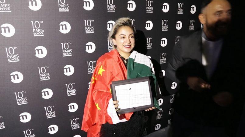 Diana Villalobos Barrera, est lauréate du prix Marangoni intercampus.