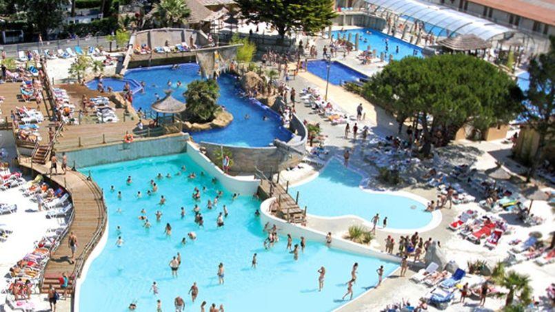 Airotel est le plus grand camping 5 étoiles de France. ©levieuxport.com