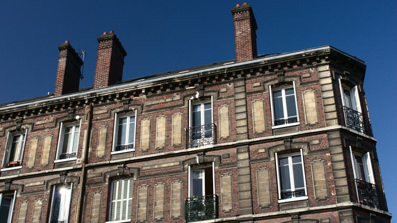 Une façade d'immeuble. Crédit: Frédéric Bisson.