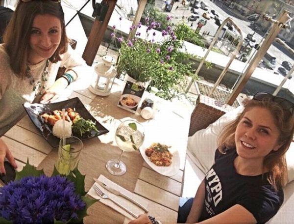 Pauline Serebryannikova (à gauche) et Victoria Savchenko. ©Facebook