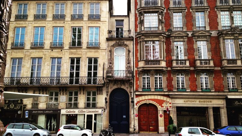 Le 13, Quai Voltaire (VIIe arrondissement). Crédit: Quentin Périnel (DR)