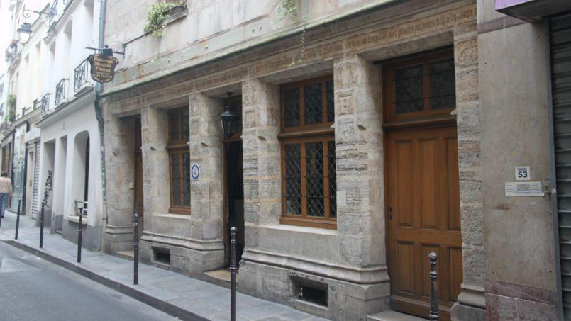 Façade du 51 rue de Montmorency, Paris. Crédit photo: Alix Fieux